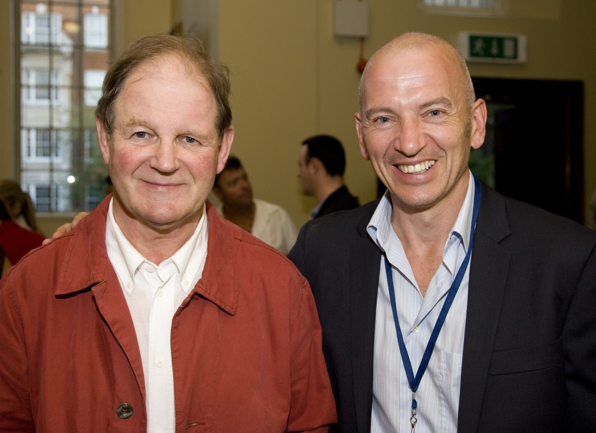 Author Michael Morpurgo and Director Phil Grabsky