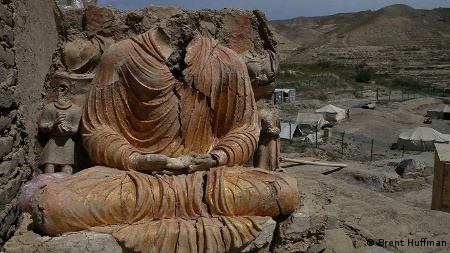 Seated Buddha Mes Aynak