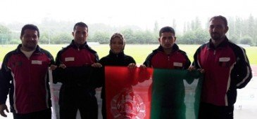 Afghan athletes in UK ahead of Olympics
