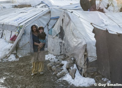 Kabul refugee camp