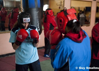 Afghan womens olympic boxing team